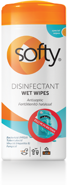 Softy Disinfectant Wet Wipes