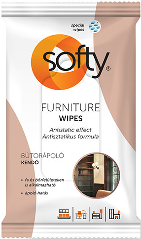 Softy Furniture Wet Wipes